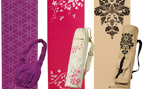 Yoga Mat Gifts with Designs